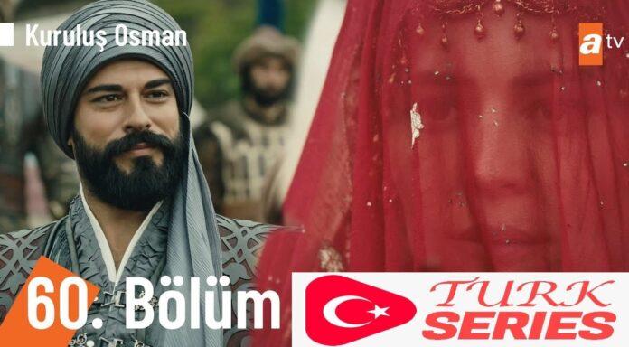 Kurulus Osman Episode 60 (Season 2 Episode 33) English & Urdu Subtitles Watch Free